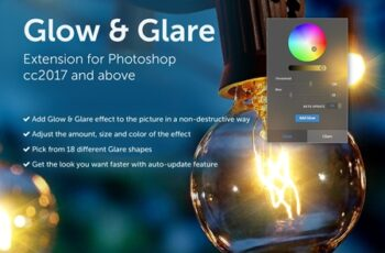 Glow & Glare - Photoshop Extension 4176868 3