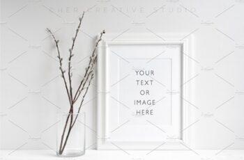 Minimalist Picture frame Mockup 595143 2