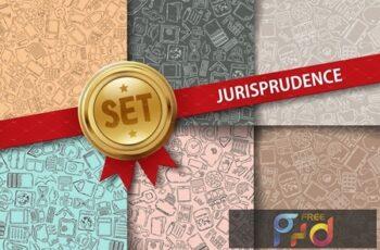 Nine Jurisprudence doodle background 373587 4