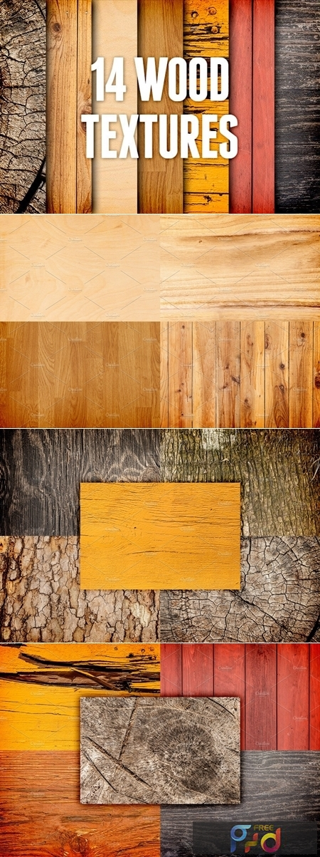 Wood Textures Pack 3 2319 1