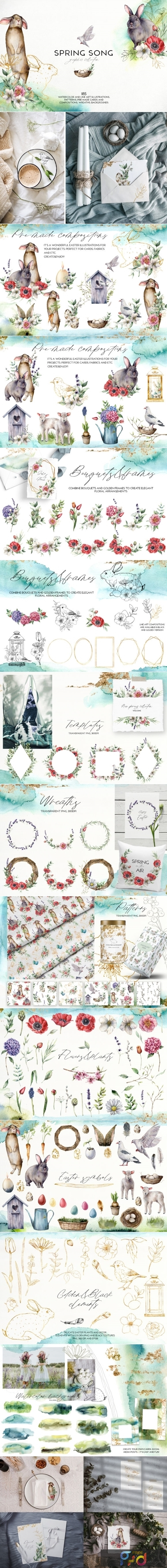 Spring Song Graphic Collection 2933836 1