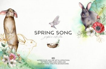Spring Song Graphic Collection 2933836 12
