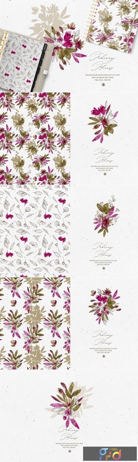 February Flowers 4570110 1