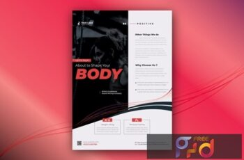 Gym Fit Flyer and Poster Template V6FAVE2 5
