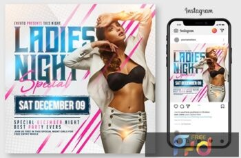 Ladies Night Flyer 4547309 6