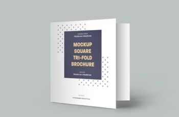 5 Square Trifold Brochure Mockups 322833912 5