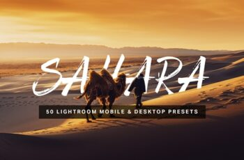 50 Sahara Lightroom Presets and LUTs 4546420 4