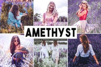 Amethyst Mobile & Desktop Lightroom Presets 4591403 5