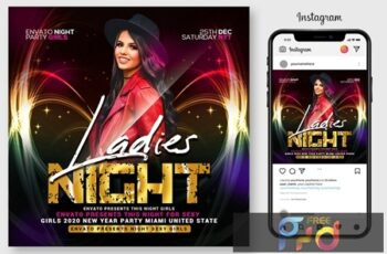 Ladies Night Flyer 4564924 6