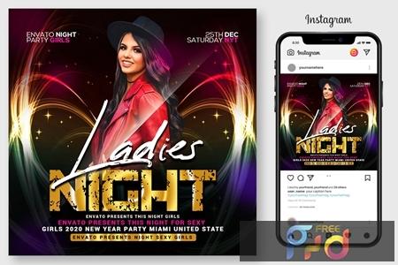 Ladies Night Flyer 4564924 1