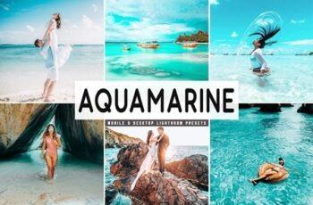 Aquamarine Mobile & Desktop Lightroom Presets 4591741 6
