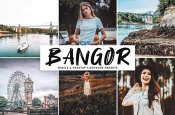 Bangor Mobile & Desktop Lightroom Presets 4591377 4