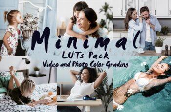 MINIMAL - LUTs Pack - Color Grading 4529618 1