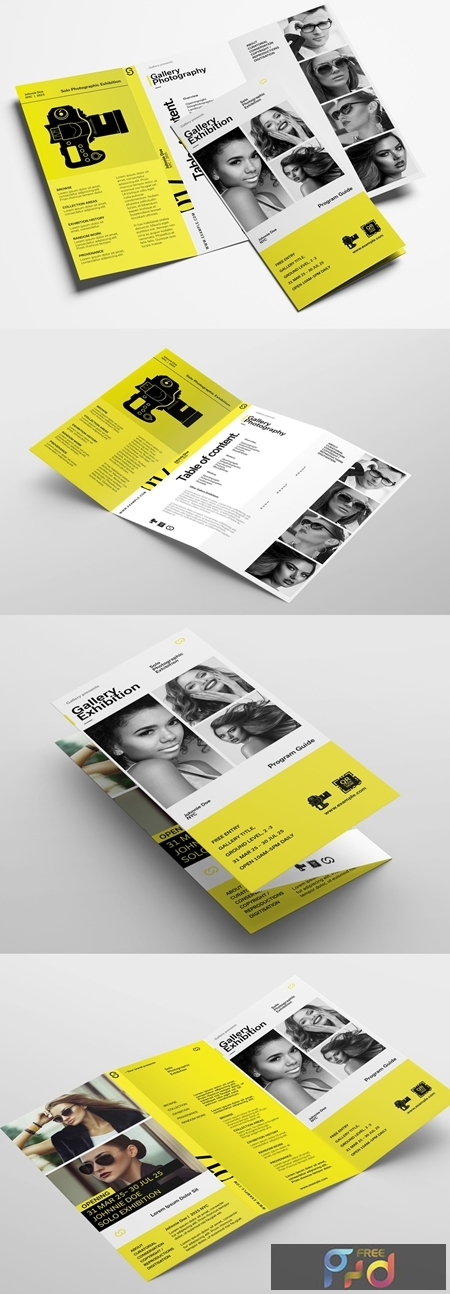 Brochure Layout for Photographers and Photography Exhibitions 323035753 1