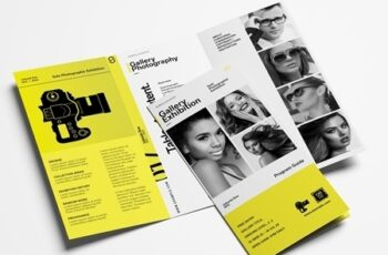 Brochure Layout for Photographers and Photography Exhibitions 323035753 6