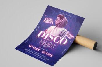 Disco Night Flyer Layout 323012853 15