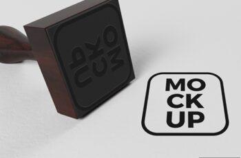 Square Rubber Stamp Mockup 323038752 3