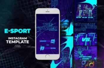 E-Sport Instagram Templates 2894569 5
