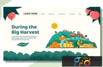 Harvest Farmer - Landing Page XXDNTJM 2