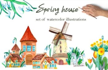 Spring Houses 2962884 2