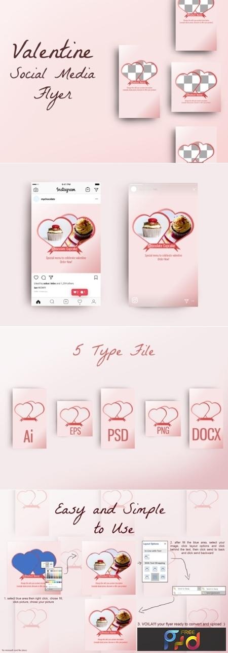 Valentine Instagram Flyer 2967559 1