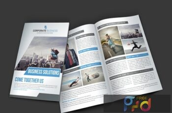 Business Bi-fold Brochure Template 4325988 4