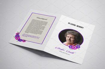 Funeral Program Template - V897 3962908 7