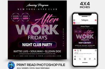 Night Club Flyer Template 4538867 2