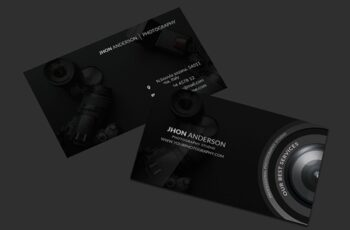 Photography Business Card 4535251 2