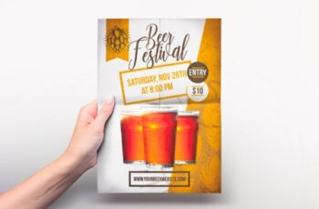 Beer Festival Poster-Flyer Template 2999838 5