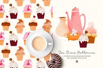 Tea Time Patterns 4605964 2