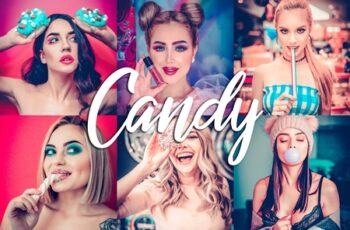 10 Lightroom Presets - Candy 3814103 3