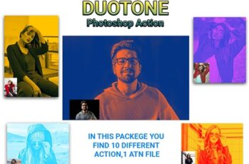 Duotone Photoshop Action 4583597 4