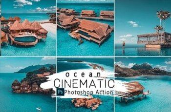 Cinematic Ocean Photoshop Actions 25818338 3
