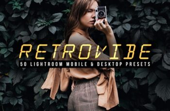 Retrovibe - 50 Lightroom Presets 4609103 2