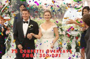 75 Festive Confetti Photo Overlays 2998833 4