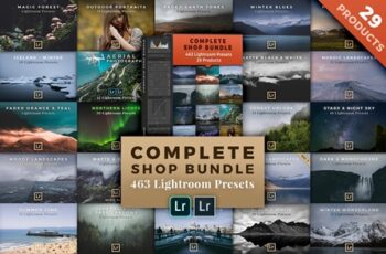 BUNDLE- 29 Lightroom Preset Packs 924218 6