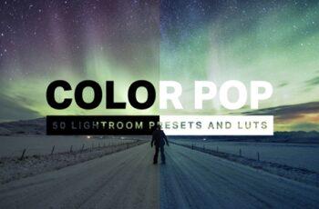 50 Color Pop Lightroom Presets LUTs 4579726 3