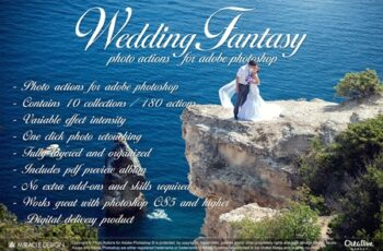 Actions for Photoshop - Wedding ( full ) 4469548 6