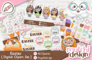 Easter Complete Cute Kit 2999326 7