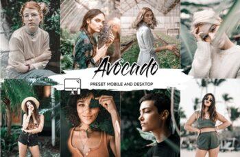 Avocado Lightroom Presets + Luts 4510015 7