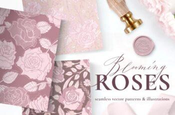 Rose Flower Patterns & Illustrations 2998829 4