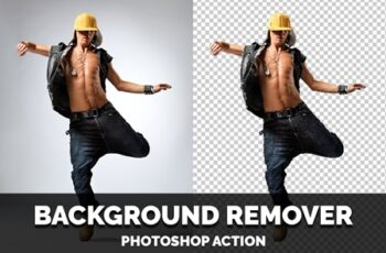 Background Remover Photoshop Action 4470150 5