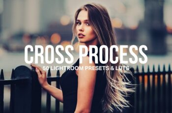 50 Cross Process Lightroom Presets and LUTs 4598585 4