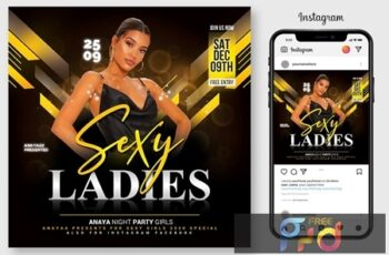 Ladies Night Flyer 4593587 5