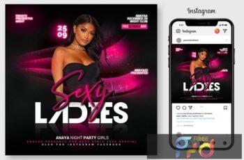 Ladies Night Flyer 4596524 2