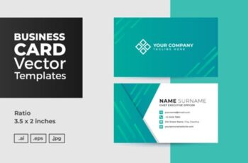 Business Card Vector Template 3006684 6