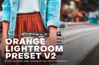 PH Orange Lightroom Presets V2 4552333 4