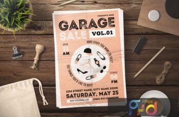 Garage Sale Flyer 47U5WZN 3