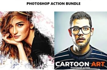 Mix Art 3 in 1 Photoshop Action Bundle 25772533 5